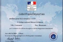 Label Franc